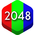 2048 Hex - challenging puzzle game icon