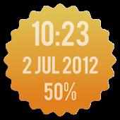 Badge Clock Widget