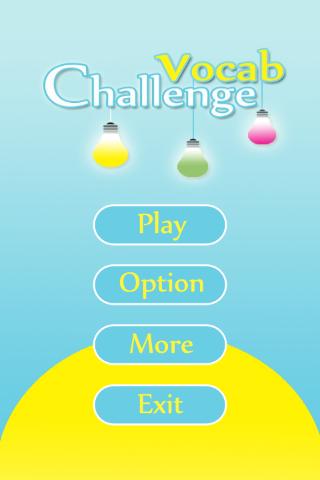 Vocab Challenge