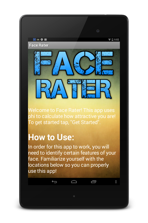 Face Rater - screenshot