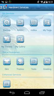 玩通訊App|Handcent 6 Skin Summer Time免費|APP試玩