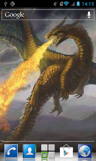 Fire-breathing monster LWP