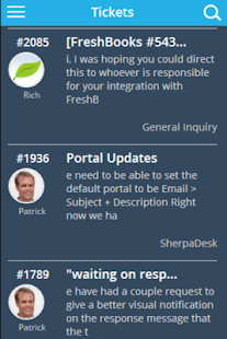 SherpaDesk Customer Support- screenshot thumbnail