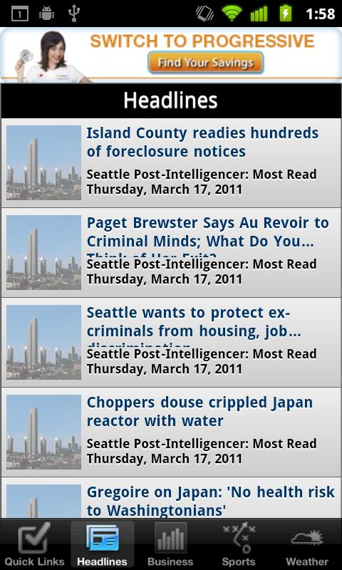 Seattle Local News - screenshot
