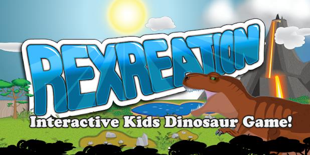 Kids Dinosaur Game- Rexreation