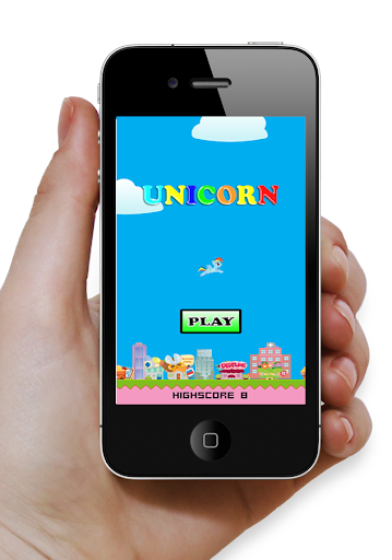 Unicorn Flappy Pony