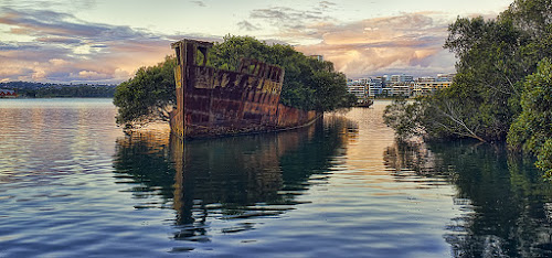 Wreck 3 by Jim Merchant - Buildings & Architecture Decaying & Abandoned ( subset, wreck, boat, mangrove )