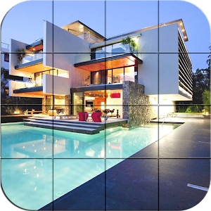 puzzle – Modern villa for PC and MAC