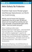 Screenshot of Halterner Zeitung eZeitung
