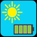 شاحن البطارية الشمسي icon