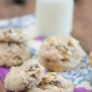 White Chocolate Marshmallow Cookies Recipes.