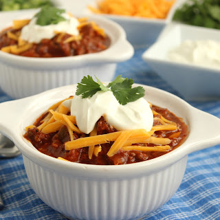 Sweet and Spicy Slow Cooker Chili.
