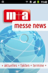 m+a messe news + messe termine- screenshot thumbnail