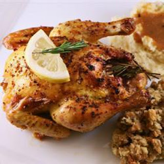 Poussin with Garlic and Rosemary