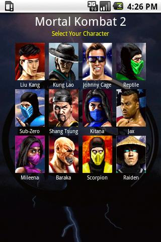 Mortal Kombat Moves - screenshot