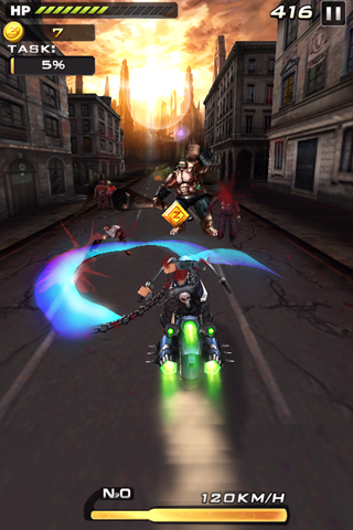 Death Moto 2- screenshot
