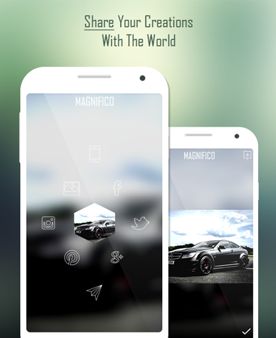 Magnifico - Photo Effects- screenshot