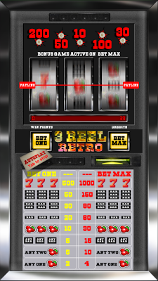 3 Reel Retro Slot Machine - screenshot