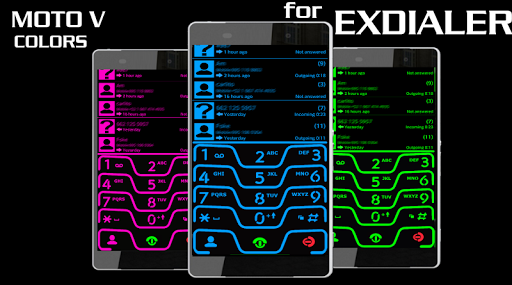 THEME NEON GREEN FOR EXDIALER