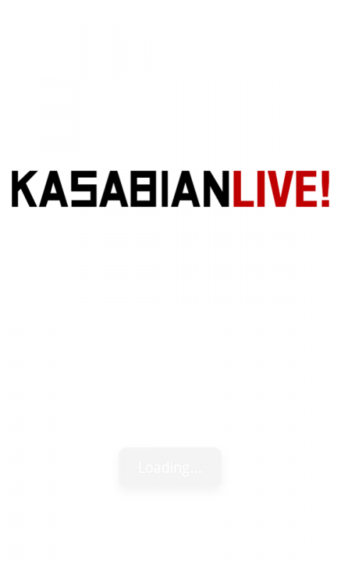 KASABIAN - screenshot