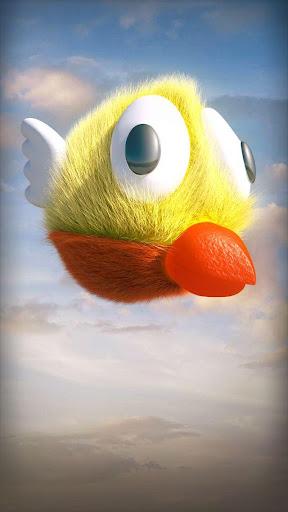 ゆるい鳥3D