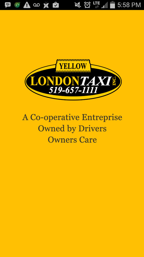 Yellow London Taxi Inc.- screenshot