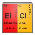 Chemical Elements Clock icon