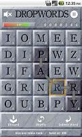 Screenshot of Dropwords