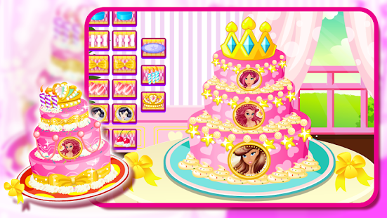 Princess Cake Maker- screenshot thumbnail