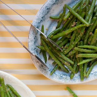 Green Beans with Lemon and Capers