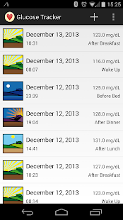 Glucose Tracker - screenshot thumbnail