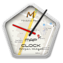 Map Clock - Zooper Widget icon