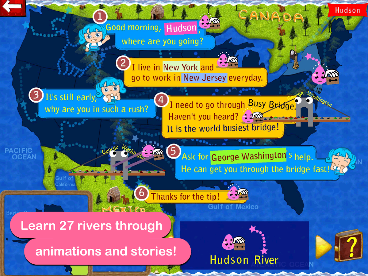 Explore the USA with Roxy- screenshot