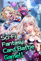 Screenshot of Electro Girl (Card Battle)