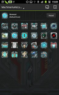 Machinarium GO Launcher Theme - screenshot thumbnail