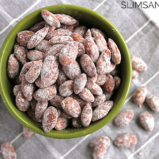 Healthier Crock-Pot Cinnamon Sugar Almonds