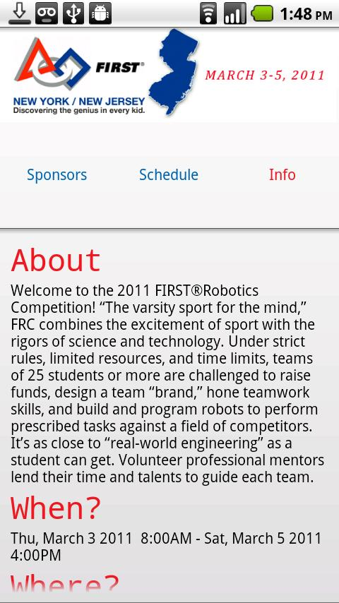 FRC NJ 2011 - screenshot