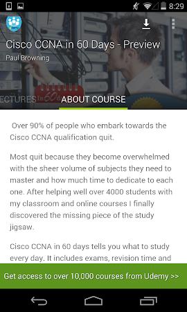Learn Cisco CCNA by Udemy 1.9 screenshot 180535