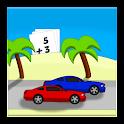Racing Addition Kids Math Game icon
