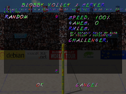 Blobby Volley 2 – Miniaturansicht des Screenshots