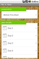 Screenshot of Juice Master 7lbs in 7 Days