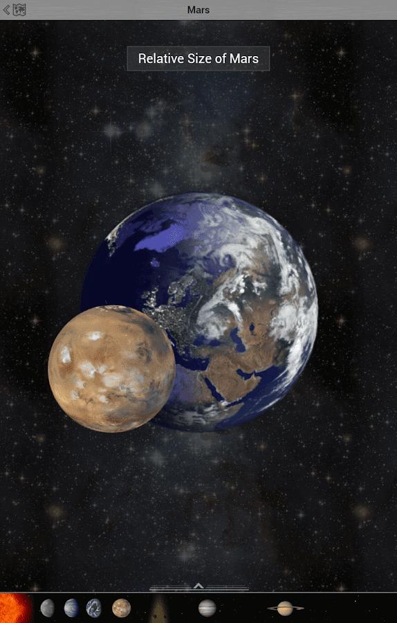 au scale solar system - photo #33