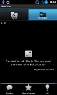 Zitate 2.0: Sprüche,Weisheiten - screenshot thumbnail