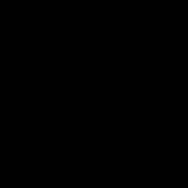 Apex/Nova - Pure Black Circle