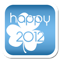 Happy 2012 Theme GO LauncherEX logo
