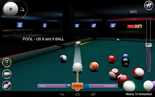 International Snooker Pro HD - screenshot thumbnail