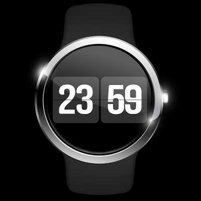 Flip Watch Face - screenshot