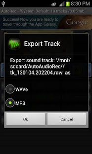 Automatic Audio Recorder- screenshot thumbnail