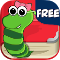 Dolly's Bookworm Puzzle FREE icon