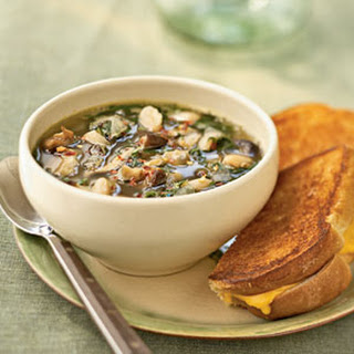 Italian White Bean and Spinach Soup.